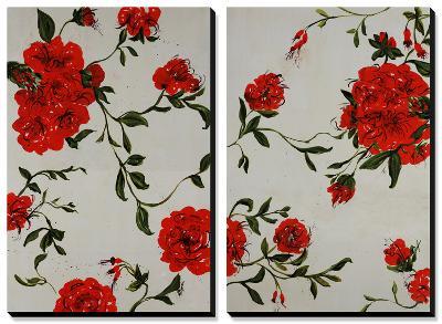 Floral Spice-Farrell Douglass-Canvas Art Set