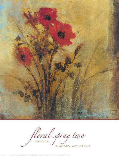 Floral Spray II-P^ Patrick-Art Print
