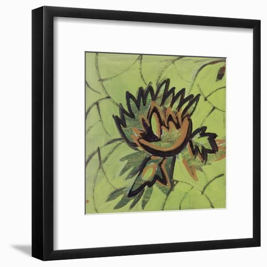 Floral Square II-Gail Altschuler-Framed Giclee Print