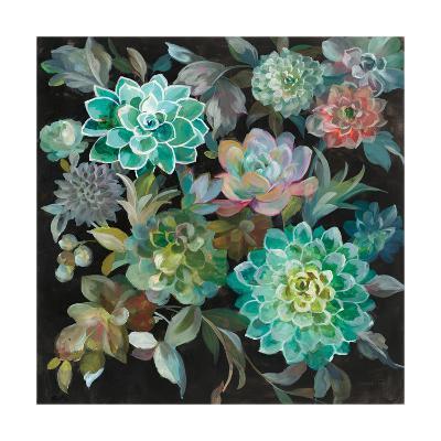 Floral Succulents-Danhui Nai-Art Print