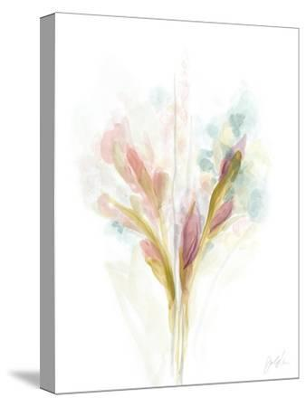 Floral Trace I-June Vess-Stretched Canvas Print