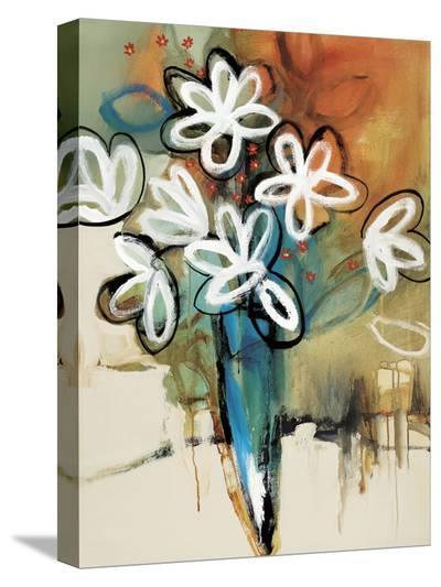 Floral Trance I-Natasha Barnes-Stretched Canvas Print