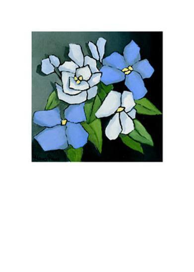 Floral Tribute VI-Hans Paus-Art Print
