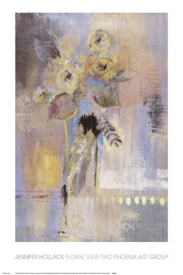 Floral View II-Jennifer Hollack-Art Print