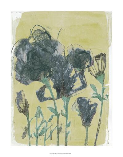 Floral Vignette III-Jennifer Goldberger-Premium Giclee Print