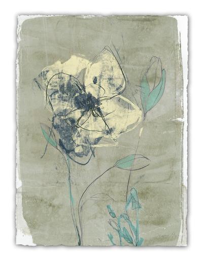 Floral Vignette IV-Jennifer Goldberger-Limited Edition