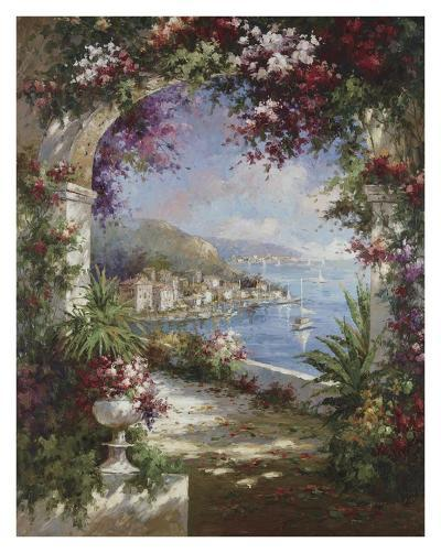 Floral Vista-Jerome-Art Print