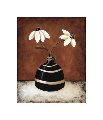 Floral Whimsey II-Krista Sewell-Giclee Print