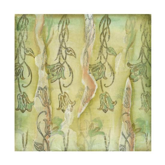 Floral Whimsey II-Jennifer Goldberger-Art Print