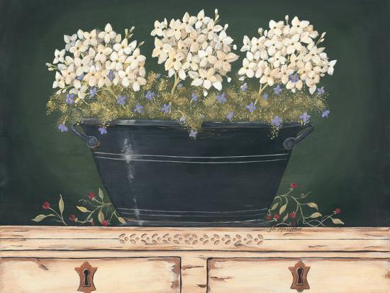 Floral with Hydrangea-Jo Moulton-Art Print
