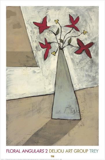 Floralangulars II-Trey-Art Print