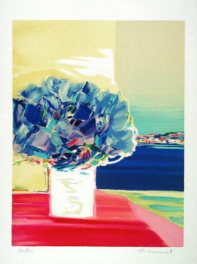 Floralies bleues-Claude Hemeret-Limited Edition