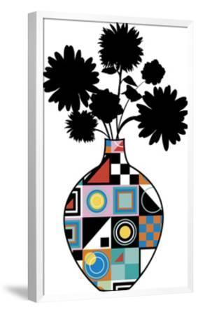 Florals - Compelling Collage-Tom Frazier-Framed Giclee Print