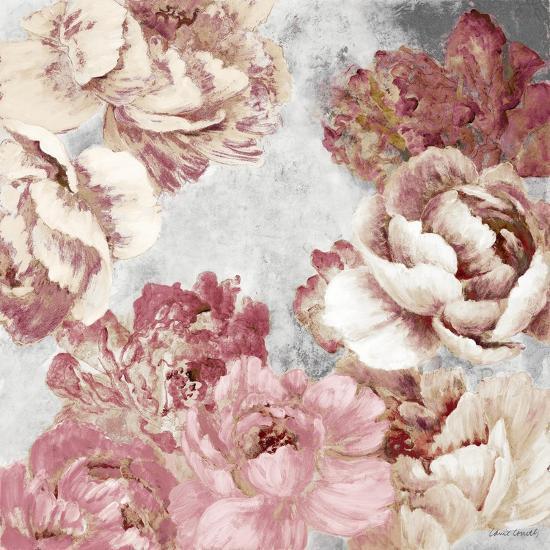 Florals in Pink and Cream-Lanie Loreth-Premium Giclee Print