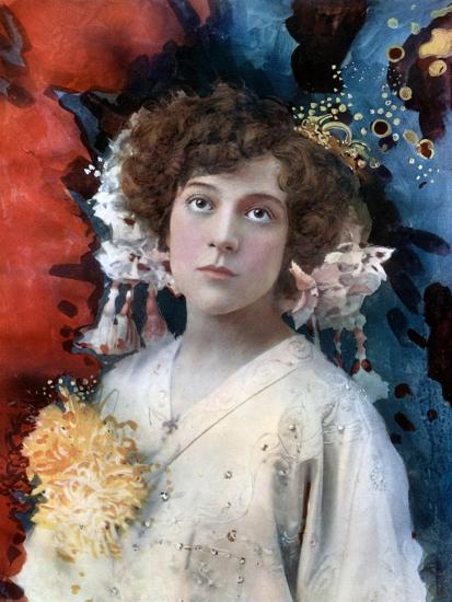 Florence Collingbourne in San Toy, C1902- Ellis & Walery-Giclee Print