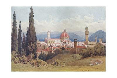 Florence, Distant View--Giclee Print