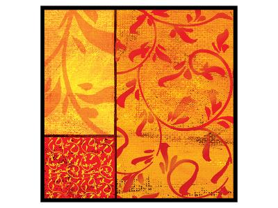 Florence Gold Cadmium-Lillian Pasenar-Art Print