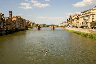 Florence, Italy: View From Ponte Vecchio-Ian Shive-Photographic Print