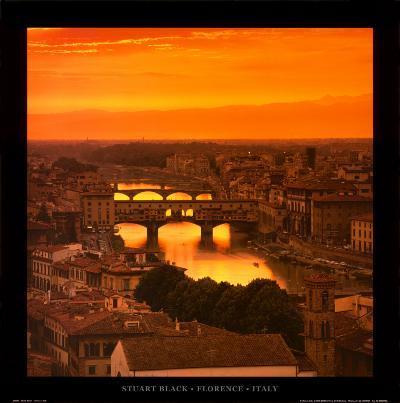 Florence - Italy-Stuart Black-Art Print