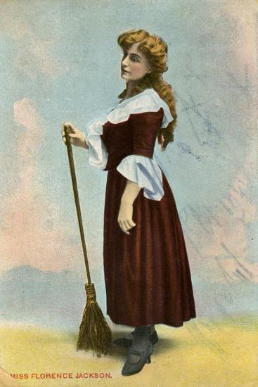 Florence Jackson, British Actress, C1908--Giclee Print