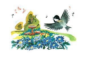 Chick-A-Dee-Dee-Dee - Jack & Jill by Florence McCurdy