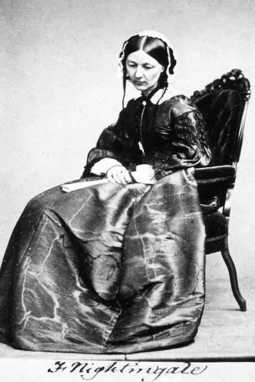Florence Nightingale (1820-191), 1854--Giclee Print