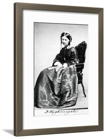 Florence Nightingale (1820-191), 1854