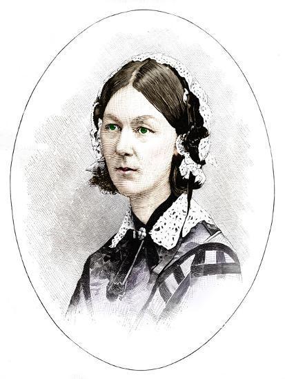 Florence Nightingale (1820-1910), British nurse-Unknown-Giclee Print
