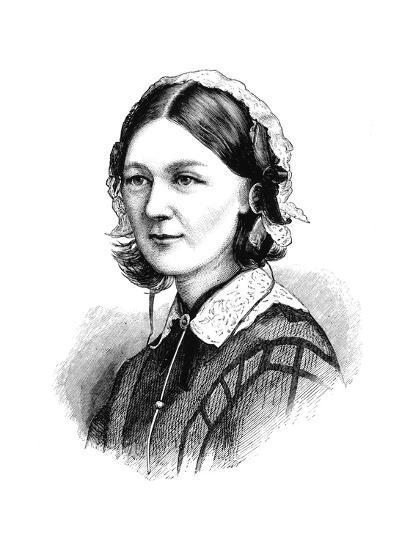 Florence Nightingale, 1870--Giclee Print