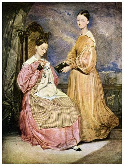 Florence Nightingale, British Nurse and Hospital Reformer, C1836-William White-Giclee Print