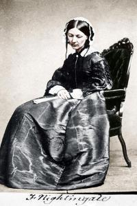 Florence Nightingale, English Nurse and Hospital Reformer, 1854