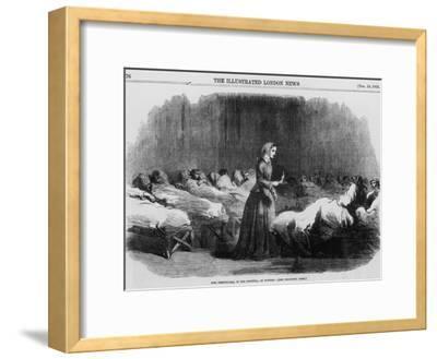 Florence Nightingale, English Nurse and Hospital Reformer, 1855