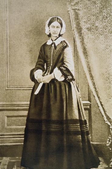 Florence Nightingale, English Nurse and Hospital Reformer, C1850S--Giclee Print