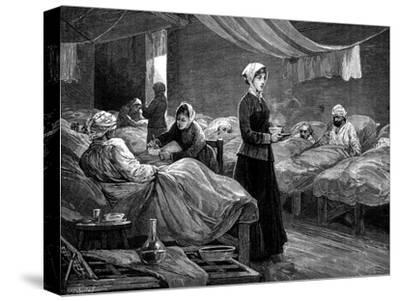 Florence Nightingale in the Barrack Hospital at Scutari, C1880