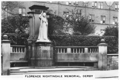Florence Nightingale Memorial, Derby, 1937--Giclee Print