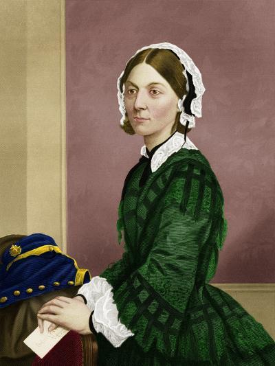 Florence Nightingale, Nursing Pioneer-Maria Platt-Evans-Photographic Print