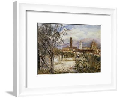 Florence, the Duomo from the Mozzi Garden-Henry Roderick Newman-Framed Giclee Print