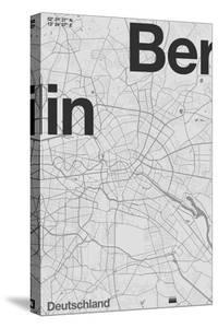 Berlin Minimal Map by Florent Bodart