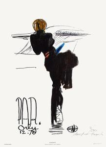 Silhouette - Paris Orly 12.70 by Florent Margaritis
