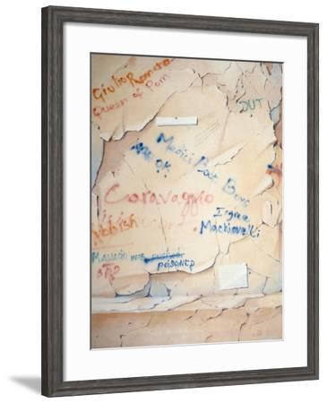 Florentine Graffiti-Lincoln Seligman-Framed Giclee Print