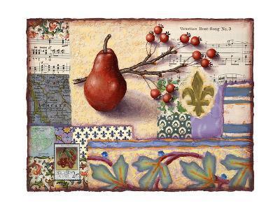 Florentine Pear-Rachel Paxton-Giclee Print