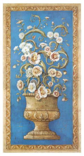 Floreros Renacimiento I-Javier Fuentes-Art Print