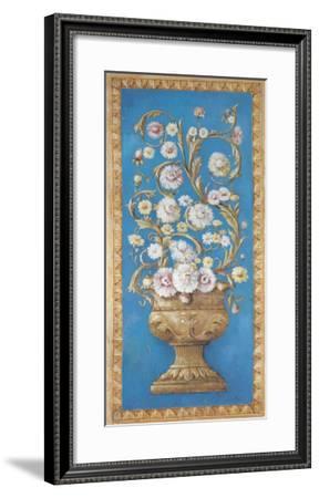 Floreros Renacimiento II-Javier Fuentes-Framed Art Print