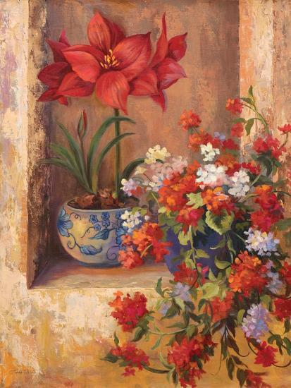 Flores de España II-Linda Wacaster-Premium Giclee Print