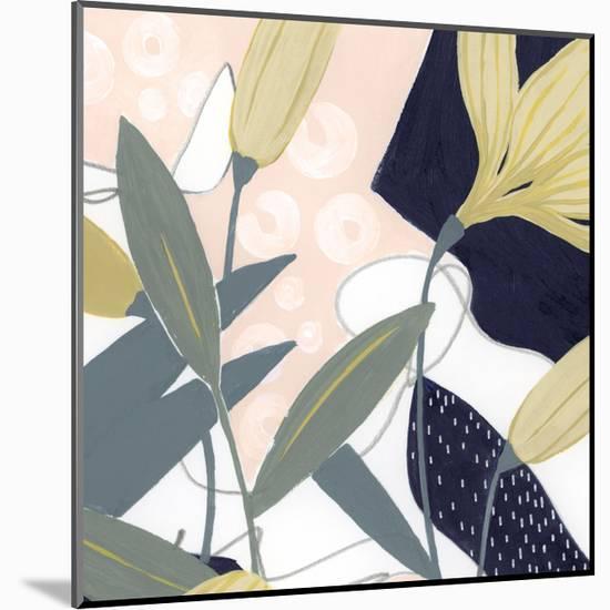 Flores Noche V-Grace Popp-Mounted Art Print