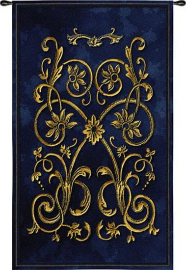 Florette Bleu--Wall Tapestry