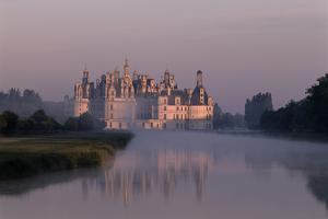 Chateau De Chambord Park - Val De Loire, France by Florian Monheim