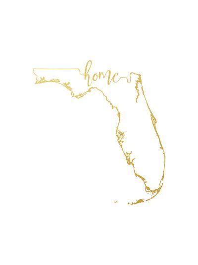 Florida Home-Paperfinch-Art Print
