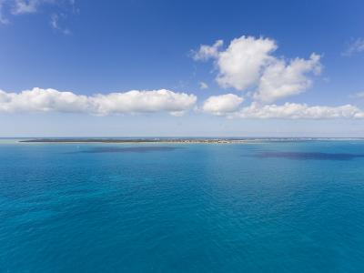 Florida Keys Islands on Sunny Day with Blue Sky and Turquoise Waters-Mike Theiss-Photographic Print