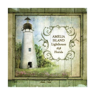 Florida Lighthouse I-Beth Anne Creative-Art Print
